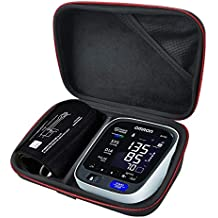 HESPLUS Carrying Case Travel Bag for Omron 10 Series Wireless Upper Arm Blood Pressure Monitor (