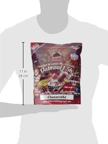 Max Protein Harina de Avena 1,5 kg Cheesecake: Amazon.es: Salud y cuidado personal