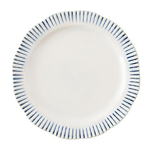 Juliska Wanderlust Sitio Stripe Indigo Dinner Plate ()