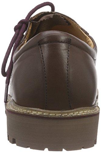 Braun Bergheimer Klaus brown Dk Zapatos Trachtenschuhe Rot Hombre Marrón nqBYSqrf