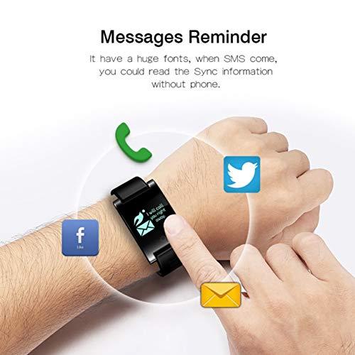 DM68 PLUS Smart Wristband Bluetooth 4.0 Wireless Bracelet Fitness Tracker(Color:Black)