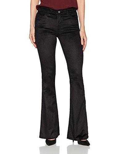 7 For All Mankind Women's Flare Wide Leg Jean, Velvet, -