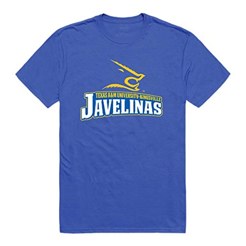 (TAMUK Texas A&M University - Kingsville Javelinas Freshman Tee T-Shirt Royal X-Large)