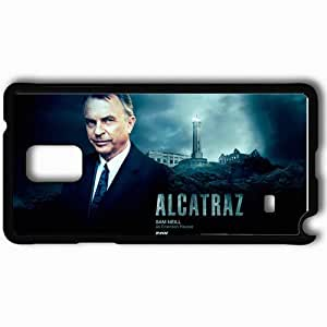 Personalized Samsung Note 4 Cell phone Case/Cover Skin Alcatraz prison Sam Neill face TV Series Black by supermalls