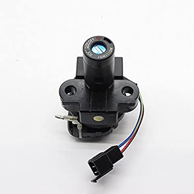 FXCNC Racing Motorcycle 3 Wire Ignition Switch Lock With Keys Fit For Honda CB250 1985-1989: Automotive