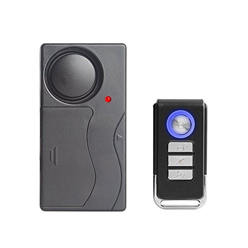 Mengshen Vibration Sensor Alarm with Remote Control for Door Window Bike Motorcycle MS-Z07 by Mengshen
