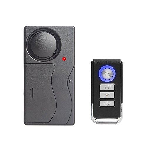 Mengshen Control Remoto Sensor de Seguridad de Alarma de Vibración para Ventana de Puerta Bike Motorcycle Z07