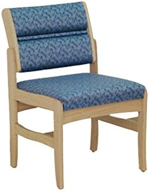 Wooden Mallet DW4-1 Valley Armless Guest Chair