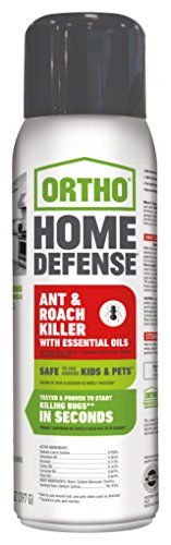 Ortho Home Defense Ant & Roach Killer with Essential Oils Aerosol 14 OZ by Ortho