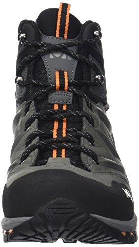 Mixte 000 Up Adulte Mid MILLET Hautes Anthracite Hike Multicolore Chaussures Randonnée Orange de 7q5w0f85