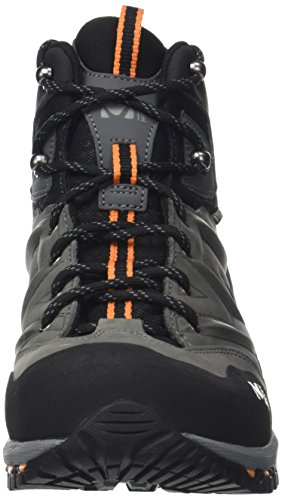 MILLET - Hike Up Mid, Scarpe alte da hiking Unisex  Adulto Anthracite/Orange