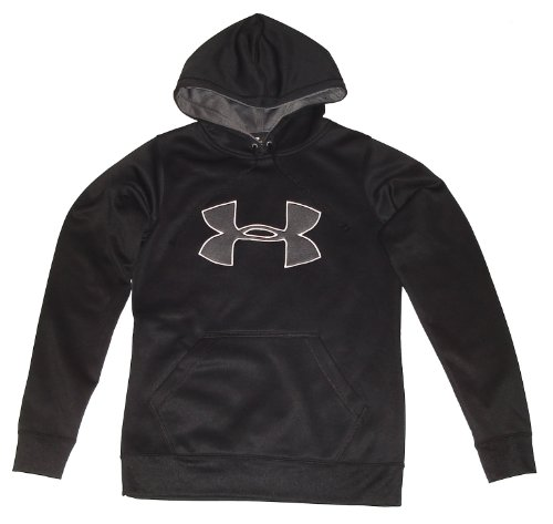 Under Armour Women's UA Armour Fleece Big Logo Hoody Tops