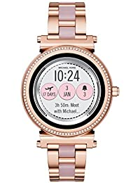 Access Women's Sofie Touchscreen Smartwatch, Color:Rose Gold-Toned (Model: MKT5041)