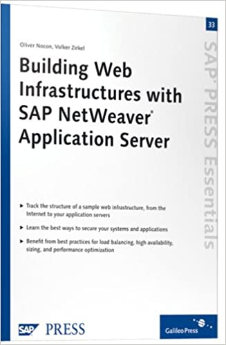 Building Web Infrastructures with SAP NetWeaver Application