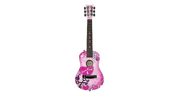 Primera Ley fg3717 funda amor Rock guitarra acústica: Amazon.es ...