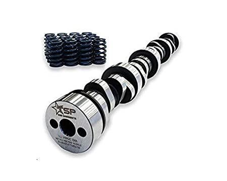 Set of 16 Camshaft, Beehive Springs Texas Speed TSP Stage 2 Low Lift Truck Camshaft Vortec Truck Cam 3 Bolt Cam 4.8 5.3 6.0 Includes GM LS6 Single Beehive Valve Springs