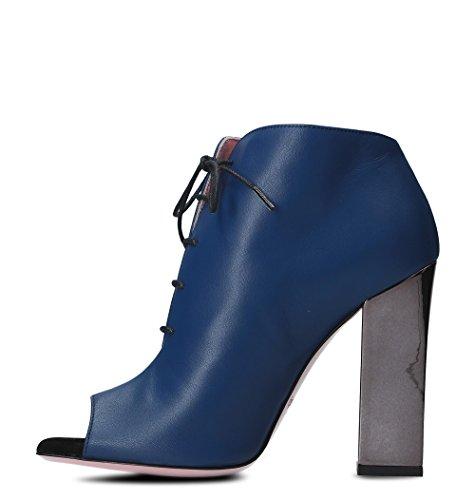 Bottines E Tacchi Tipe En 4211zbluette Bleu Cuir Des Femmes zStWBwnBq