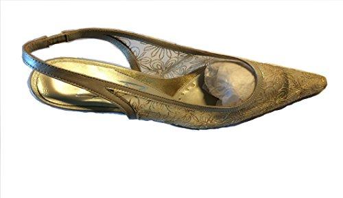 ZACCHO Gold Sandal 7209 SIZE EU 39 4TJvV0d