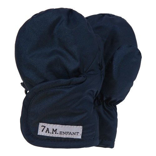 7AM Enfant Classic Mittens 212, Metallic Prussian Blue, X Large