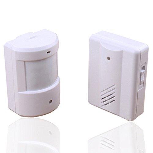 Wireless Infrared Monitor Sensor Detector Entry Doorbell ...