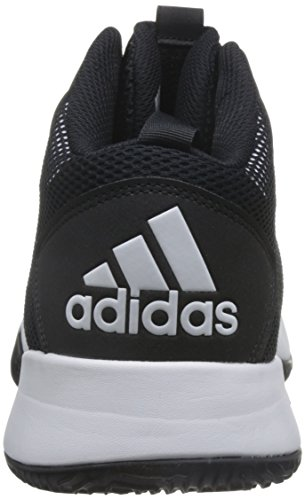 adidas Men's Crazy Team II, Black/White Black/White