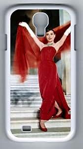 Audrey Hepburn Samsung Galaxy S4 I9500 PC Case Cover (white), Samsung Galaxy S4 I9500 case Audrey Hepburn