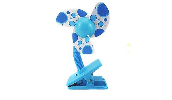 azul nalmatoionme beb/é clip-on Mini cochecito Lovely Fasion Ventilador