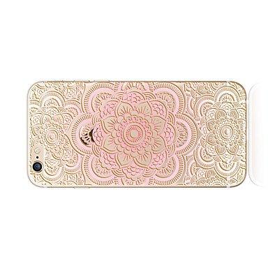 Fundas y estuches para teléfonos móviles, Caso para el iphone 7 más 7 cubra el patrón transparente de la contraportada del patrón de la caja cordón suave mandril de la impresión ( Modelos Compatibles  IPhone 7 Plus