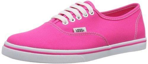 Vans U Authentic Lo Pro (Neon) Pink Glo, basse mixte adulte Rosa (Pink ((Neon) pink glo))