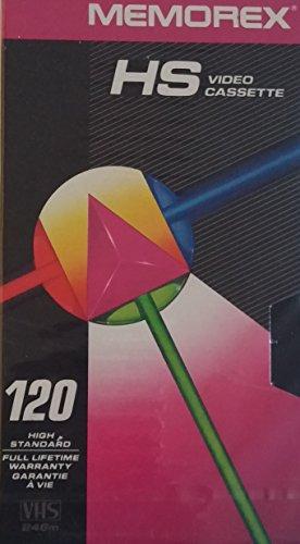 Memorex 120 High Standard Video Cassette, 2 Pack