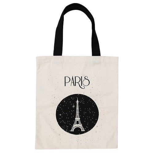 Treffen der Museen nationalen–Grand Palais–Tasche tote-bag Paris Eiffelturm Sterne 100% Baumwolle Pr79iT4
