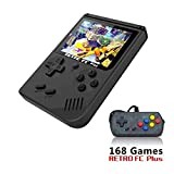 Nidoum 168 Games 8 Bit Handheld Game Console Players 3 Inch Screen Video