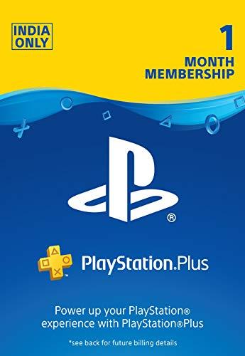 PlayStation Plus: 1 Month Membership Card (Digital Code)