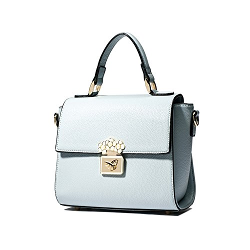Miyoopark , Damen Satchel-Tasche blau