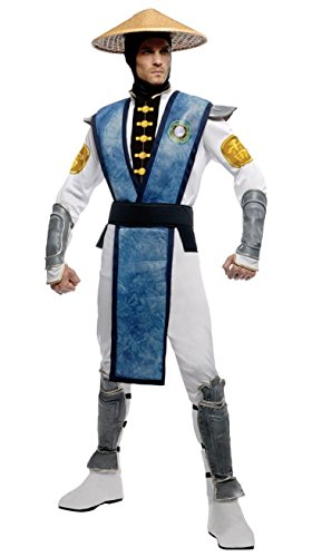 [Raiden Costume - X-Large - Chest Size 50] (Rubies Costume Mortal Kombat Raiden Costume)