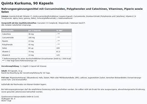 Quinta Kurkuma - 90 Kapseln