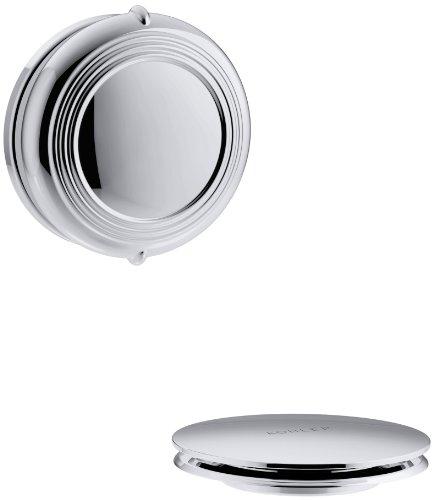KOHLER K-T37393-CP Bath Drain Trim, 1, Polished Chrome