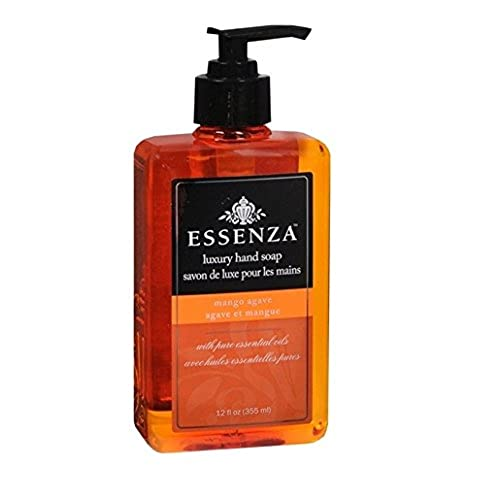 Cheap Essenza Luxury Hand Soap, 16.9 Ounce (Mango Agave) (Pack of 2) for sale