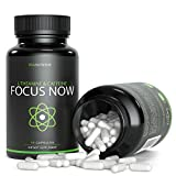 Caffeine 100mg, L-Theanine 200mg - 90 Count | Taken for Better Focus, Energy, Mood & Wakefulness | Nootropic Stack | V-Capsules