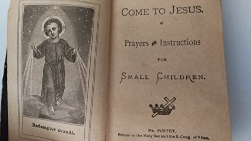 Vintage Original 19th Century Traditional Roman Catholic Prayer And Instruction Guide For Small Children