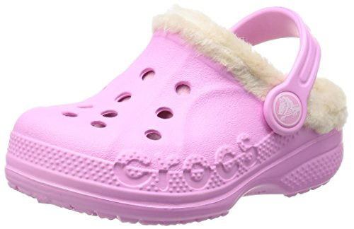 Image of Crocs Kids' Baya Heathered Lined Clog