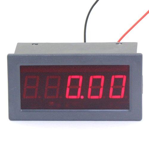 DROK 0.56 Surface 5 Digits Digital Ammeter +/- 0-199.99mA DC Current Milli-Amps Measurement Ampere Panel Meter Red LED