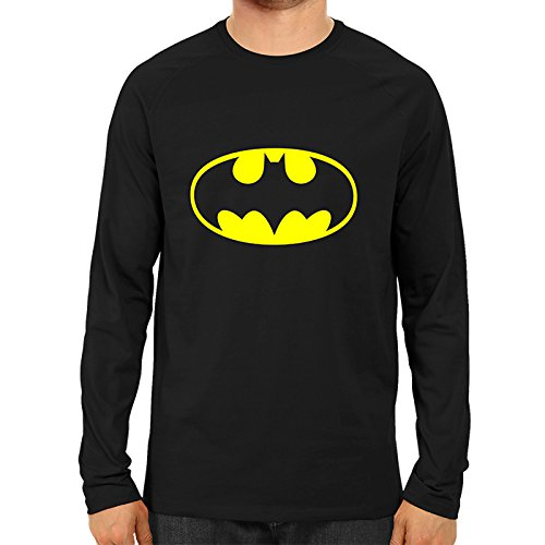 075dba773 Batman Logo SuperHero Full Sleeve Premium Cotton T Shirt: Amazon.in:  Clothing & Accessories