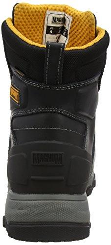 Magnum Hamburg 6.0 Composite Toe & Plate Waterproof, Calzado de Protección para Hombre Negro (Black)