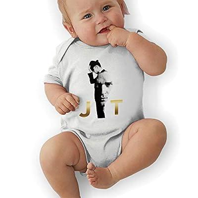ROWANJEFFERS Justin Timberlake Baby Boys' Girls' Bodysuit Toddler Coveralls