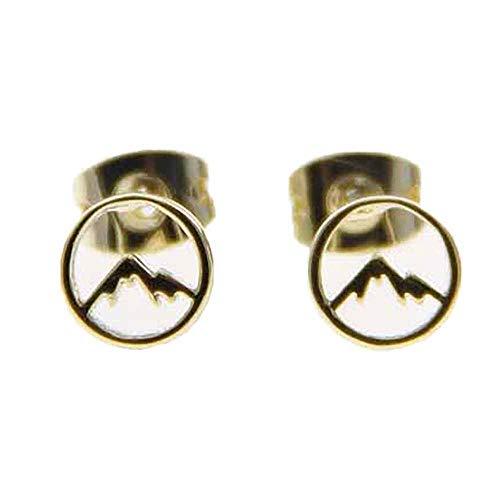 Pura Vida Gold Sierra Stud Earring Set - Brass Base w/Gold Coated Plating from Pura Vida