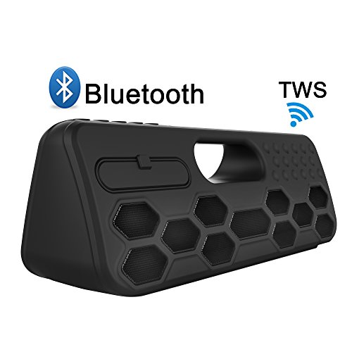 ELP Subwoofers Bluetooth Speaker,Cardless Wireless Home Speaker With TWS Louder Volume,Super Bass Outdoor Waterproof for Beach,Home Theater,Golf Connecting Iphone,Ipad,Samsung Smartphone