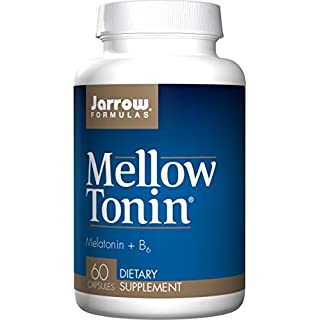 Jarrow Formulas Mellow Tonin, Provides Brain and Memory Support, 60 Capsules