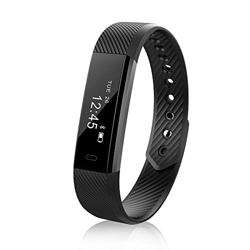 Trigger Parts Smart (TOP-MAX Fitness Tracker Sports Exercise Activity Tracker Bluetooth Smart Watch IP67 Waterproof for Android IOS Smart Phone)