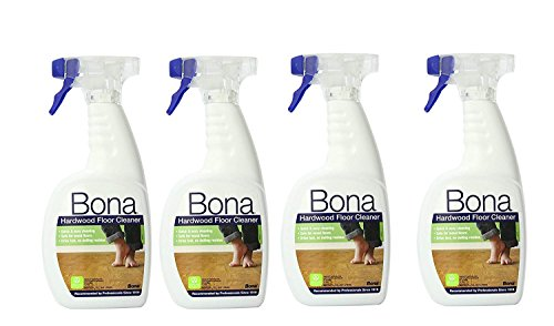 Price comparison product image 4 Pack Bona Hardwood Floor Cleaner Spray,  32 oz.
